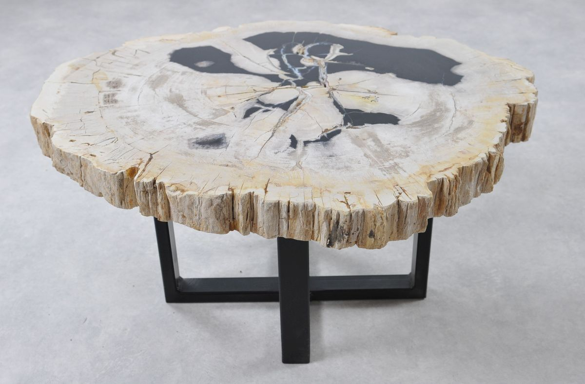 Mesa de centro madera petrificada 36152