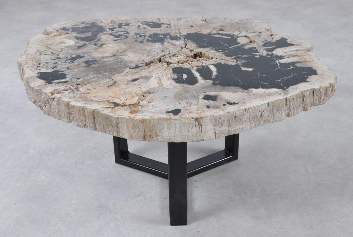 Mesa de centro madera petrificada 36304