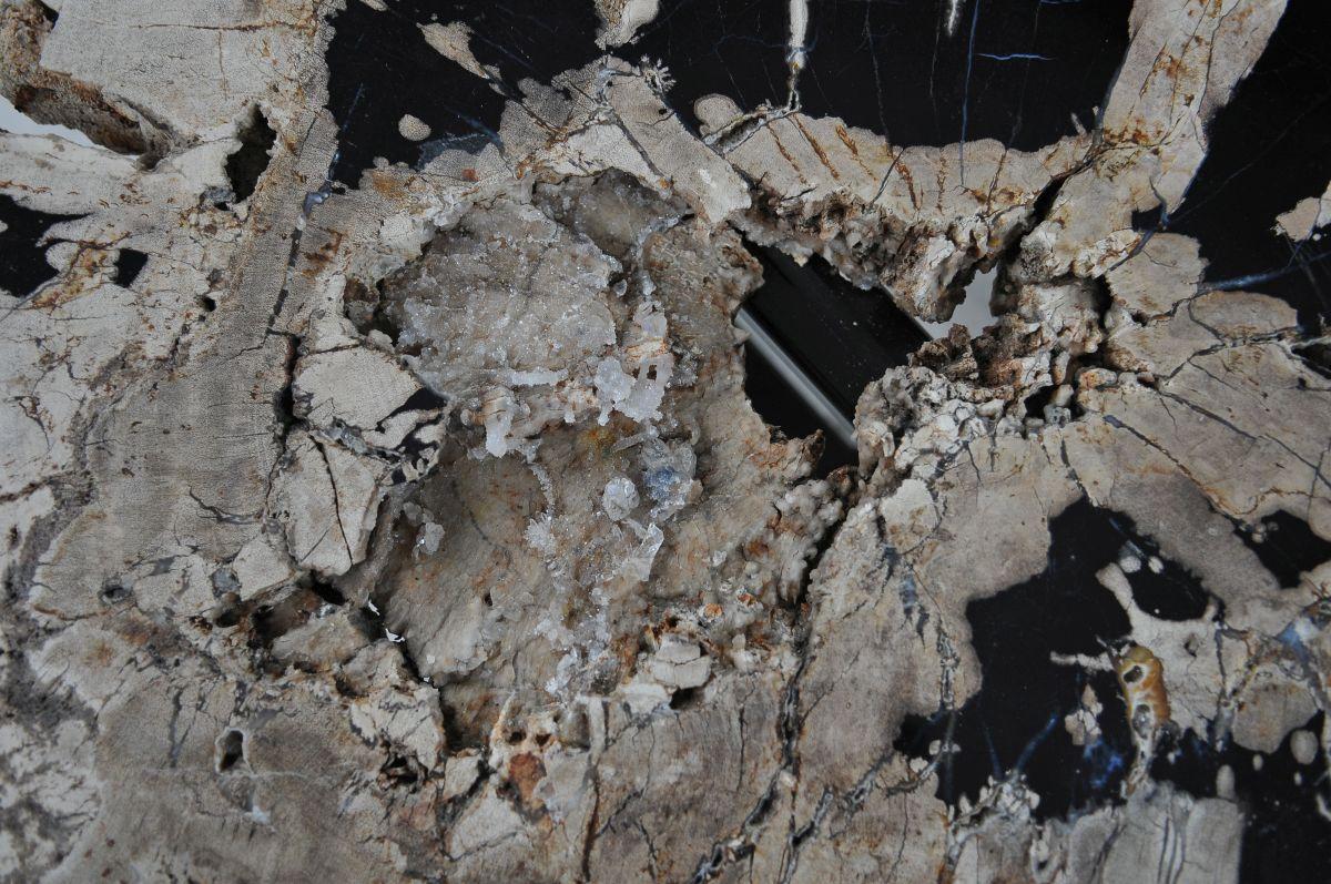 Mesa de centro madera petrificada 36305
