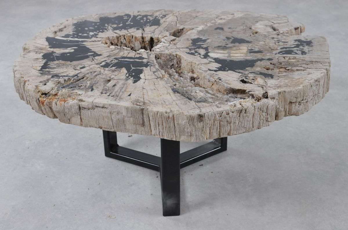 Mesa de centro madera petrificada 36308