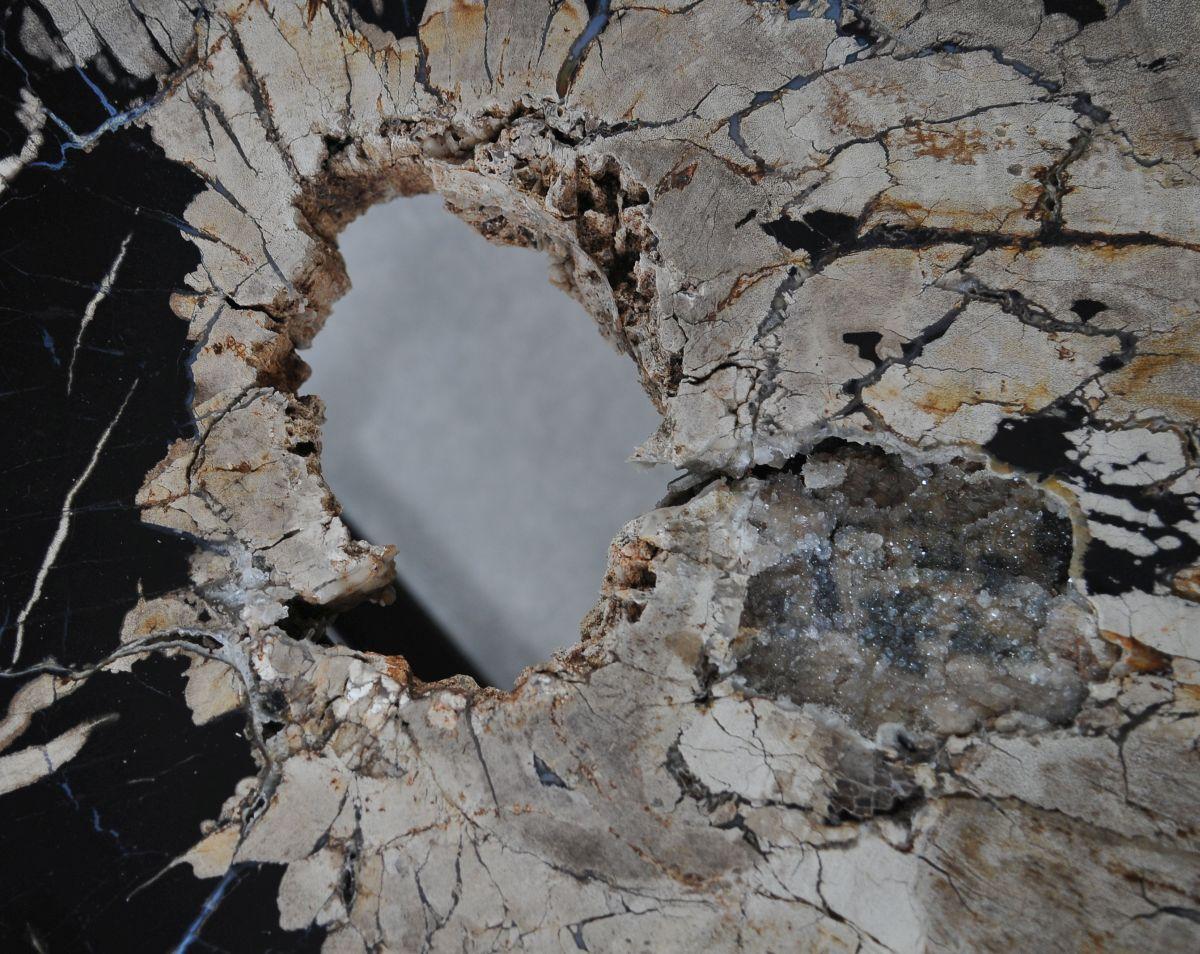 Mesa de centro madera petrificada 36313