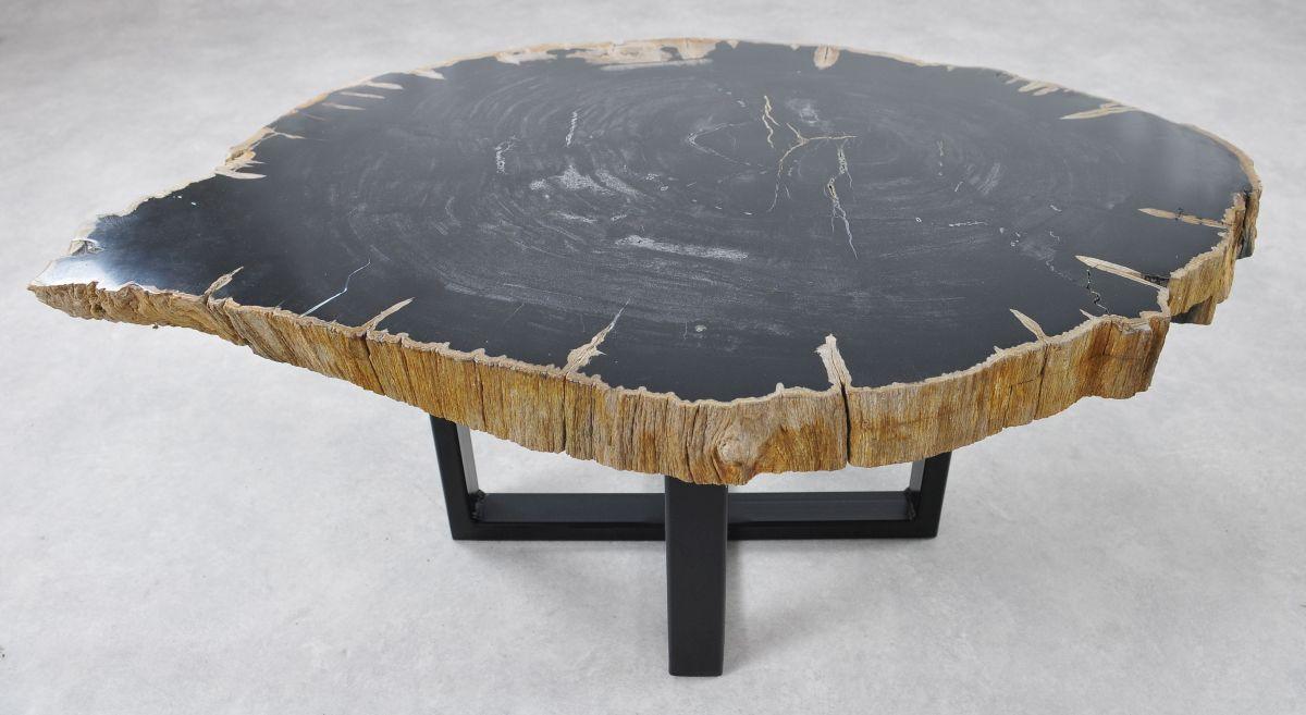 Mesa de centro madera petrificada 36363