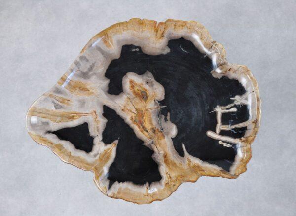 Plato madera petrificada 36040