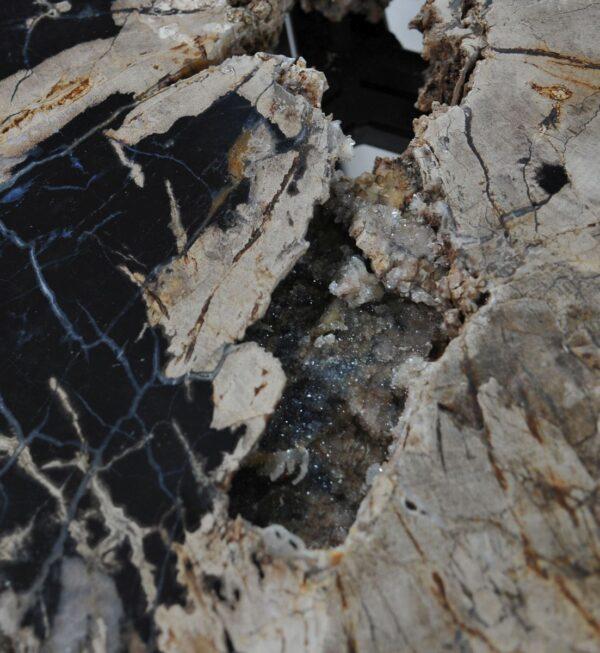 Salontafel versteend hout 36302