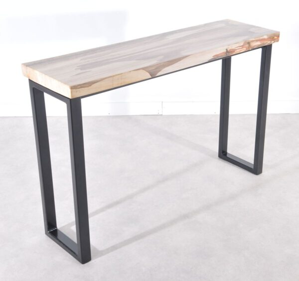 Table console bois pétrifié 36112