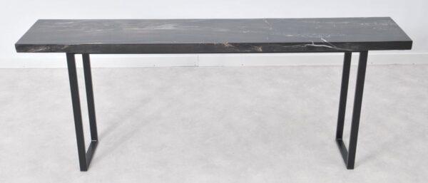 Table console bois pétrifié 36121