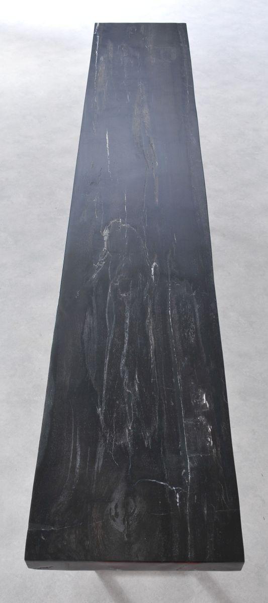 Table console bois pétrifié 36137
