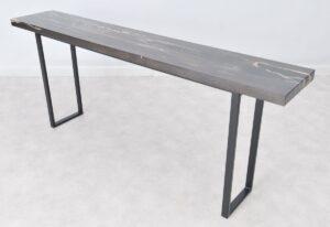 Table console bois pétrifié 36138