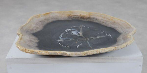 Teller versteinertes Holz 36050e