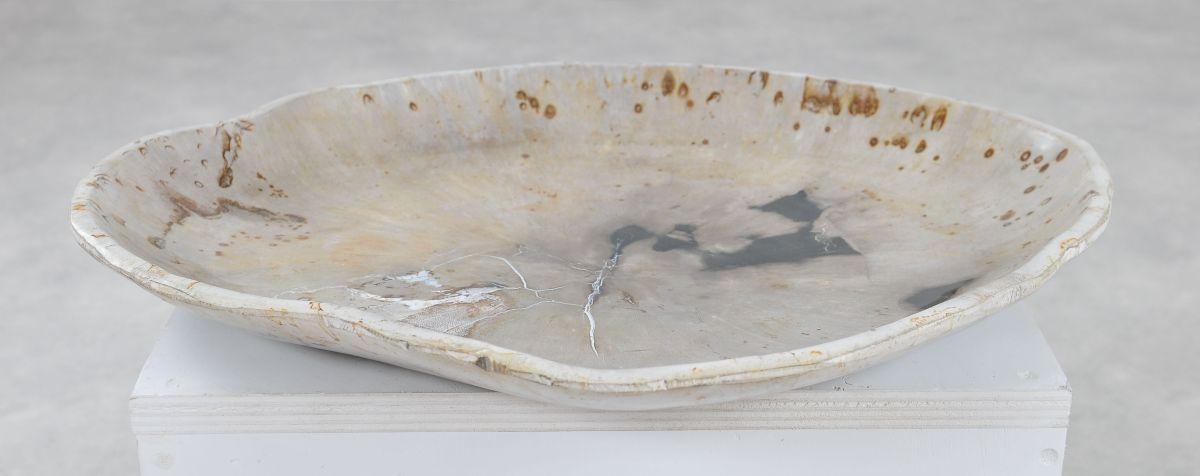 Teller versteinertes Holz 36051b