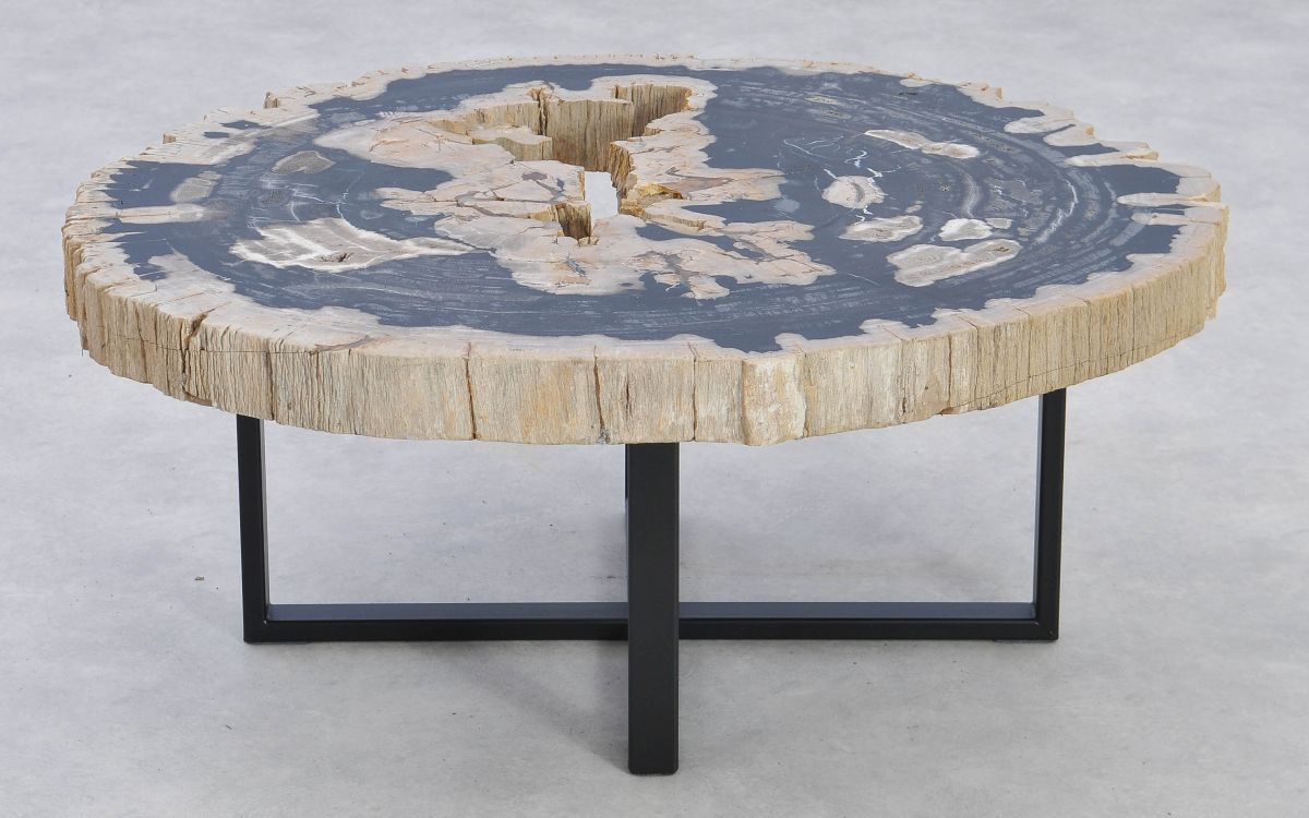 Coffee table petrified wood 37186