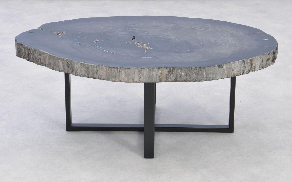 Coffee table petrified wood 37370