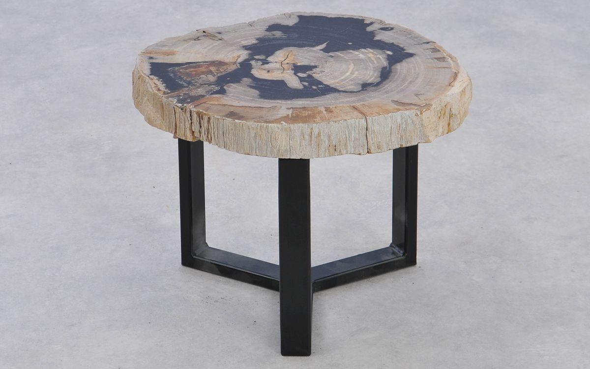 Coffee table petrified wood 37374