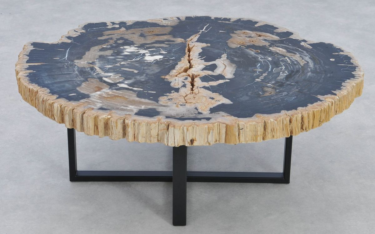 Couchtisch versteinertes Holz 37170