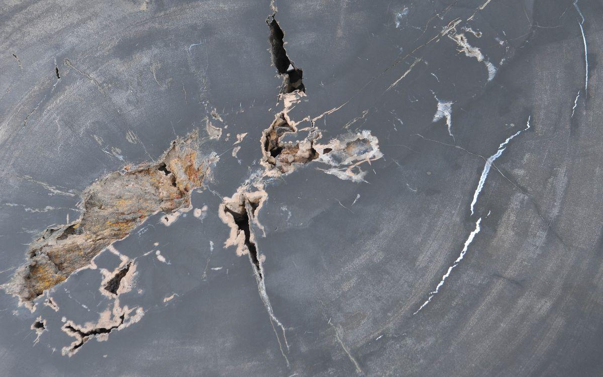 Couchtisch versteinertes Holz 37259