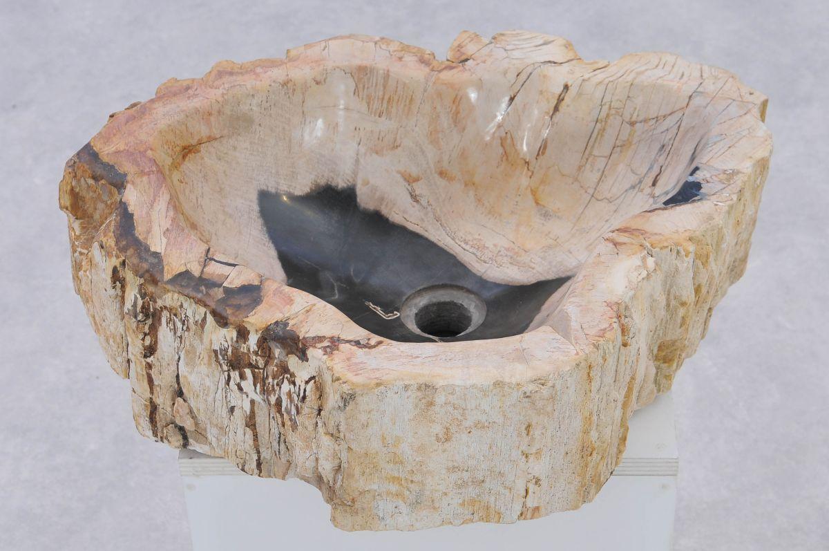 Lavabo bois pétrifié 37325
