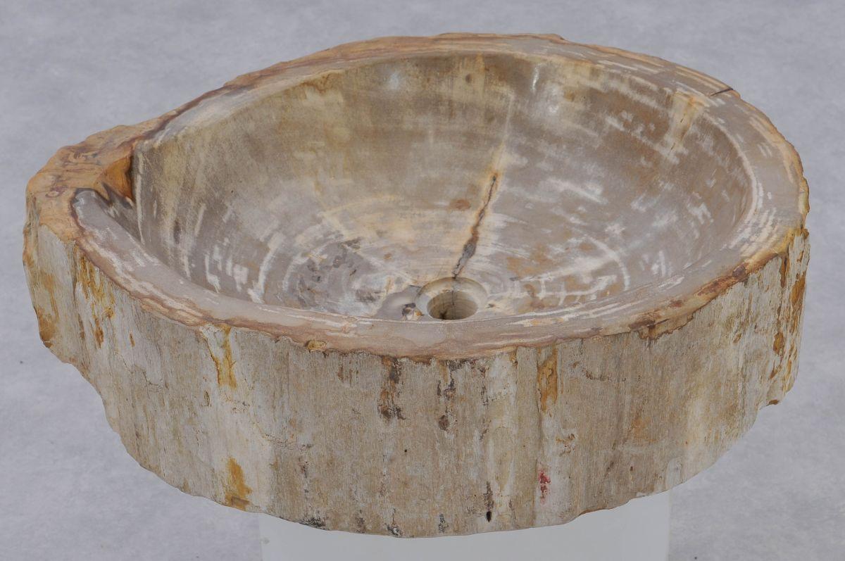 Lavabo bois pétrifié 37326