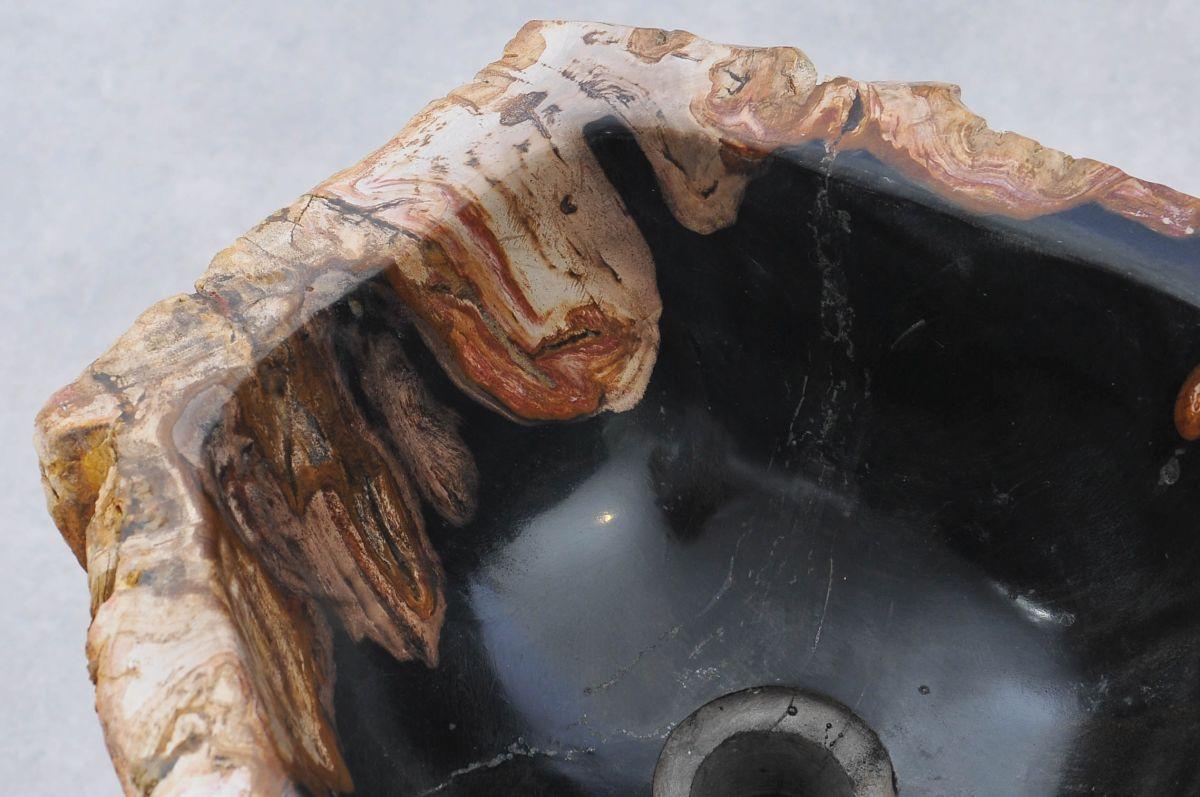 Lavabo bois pétrifié 37332