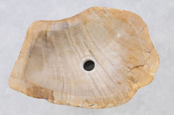 Lavabo bois pétrifié 37336