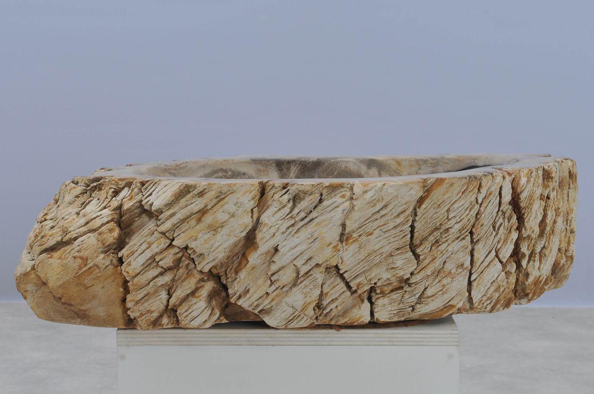 Lavabo bois pétrifié 37340