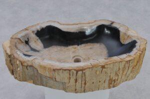 Lavabo bois pétrifié 37352