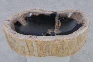 Lavabo bois pétrifié 37353