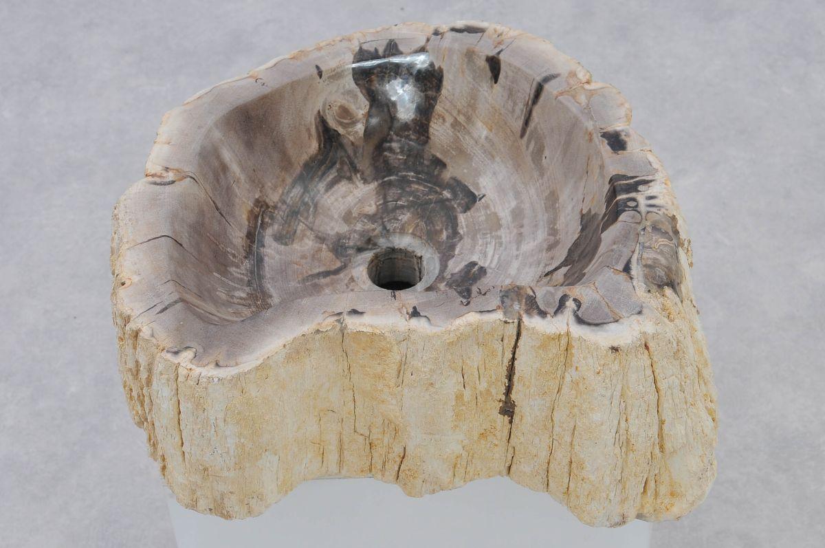 Lavabo madera petrificada 37320