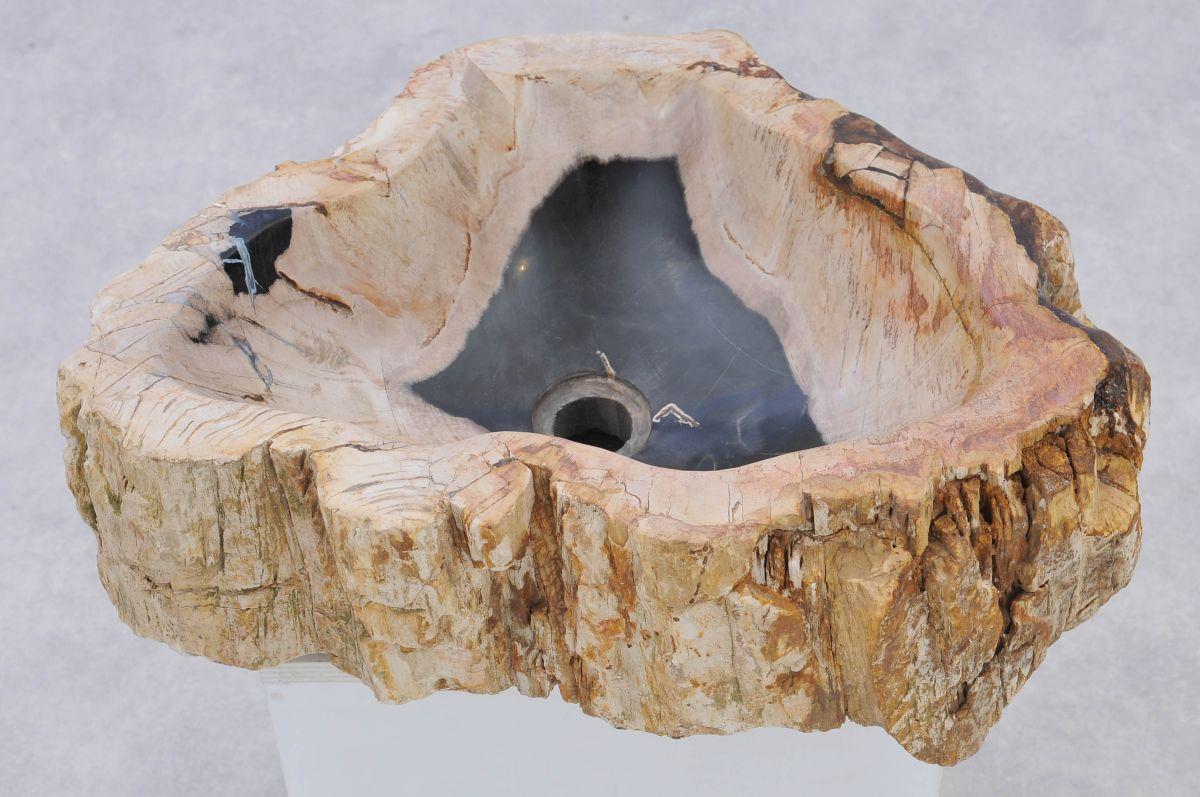 Lavabo madera petrificada 37325
