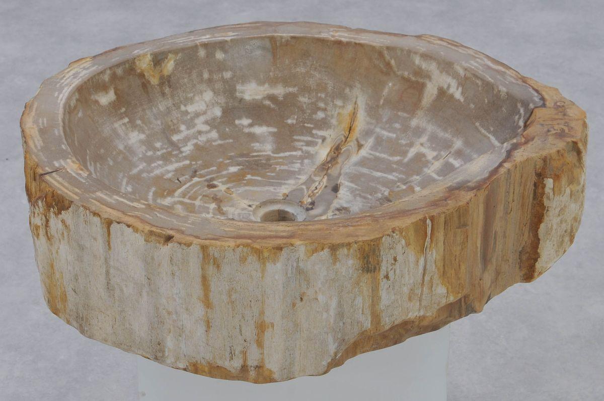 Lavabo madera petrificada 37326