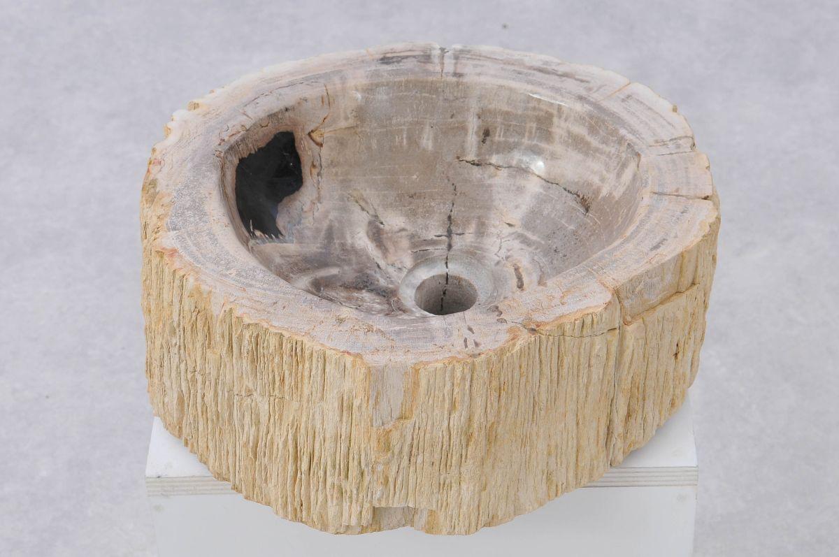 Lavabo madera petrificada 37333
