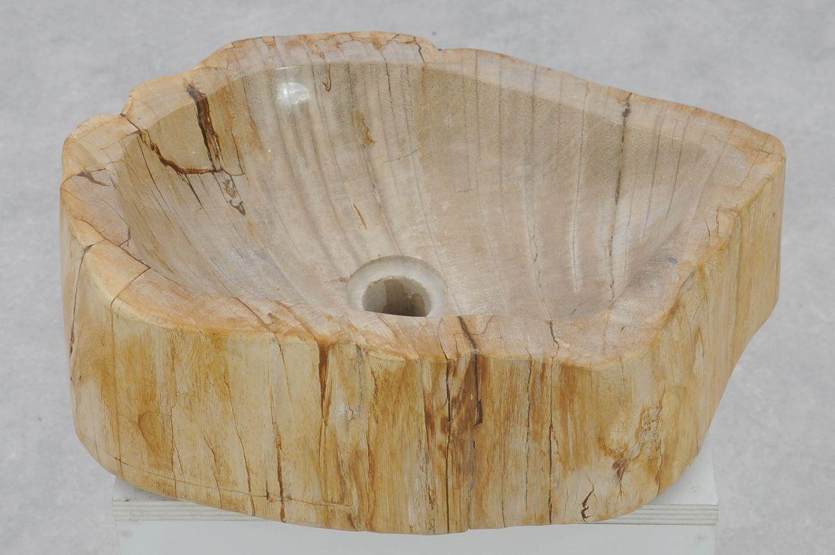 Lavabo madera petrificada 37335