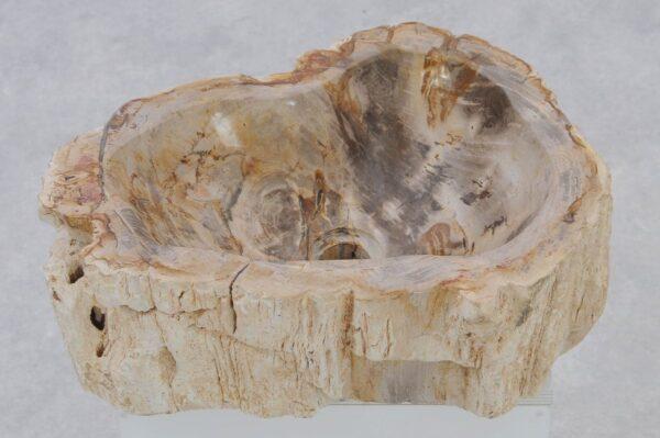 Lavabo madera petrificada 37338
