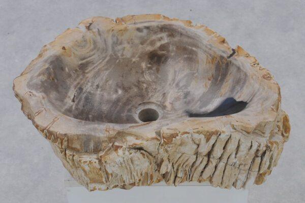 Lavabo madera petrificada 37339
