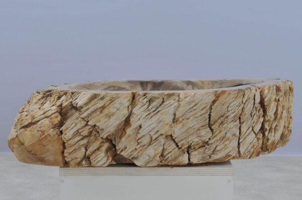 Lavabo madera petrificada 37340