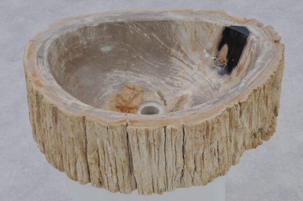Lavabo madera petrificada 37343