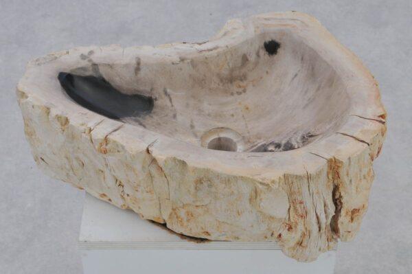 Lavabo madera petrificada 37345
