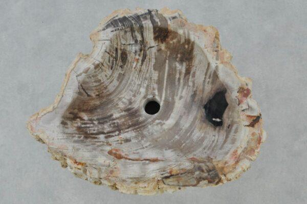 Lavabo madera petrificada 37347