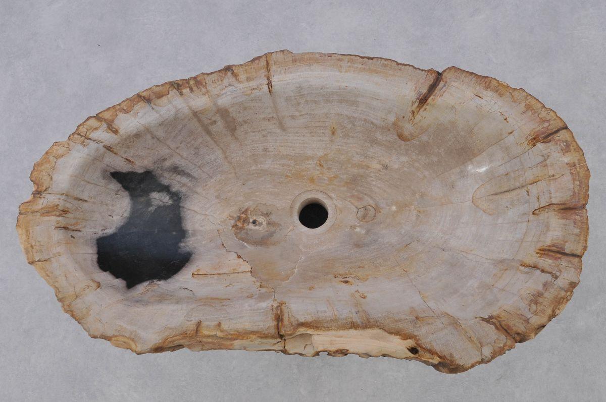 Lavabo madera petrificada 37350