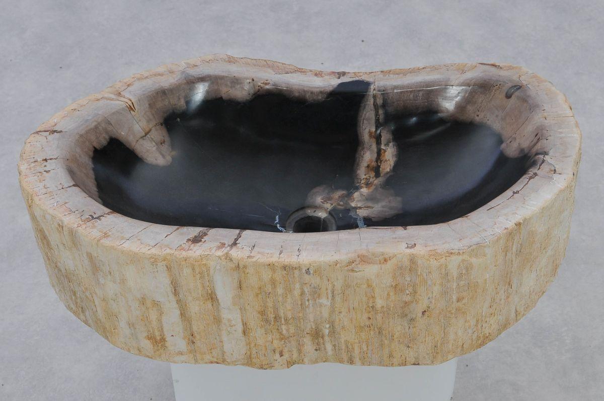 Lavabo madera petrificada 37353