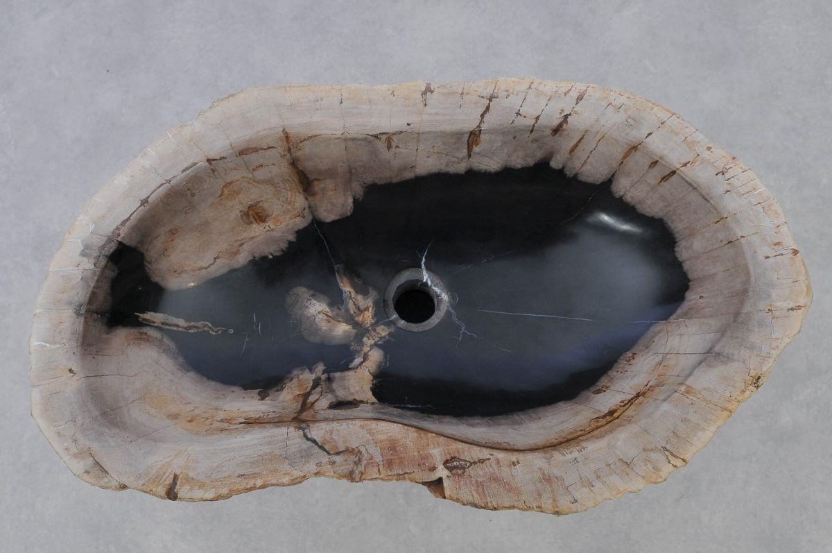 Lavabo madera petrificada 37354