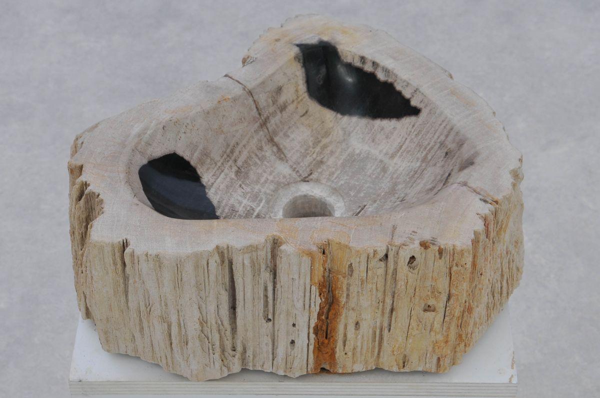 Lavabo madera petrificada 37367