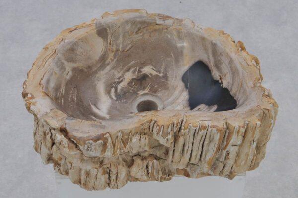 Lavabo madera petrificada 37368