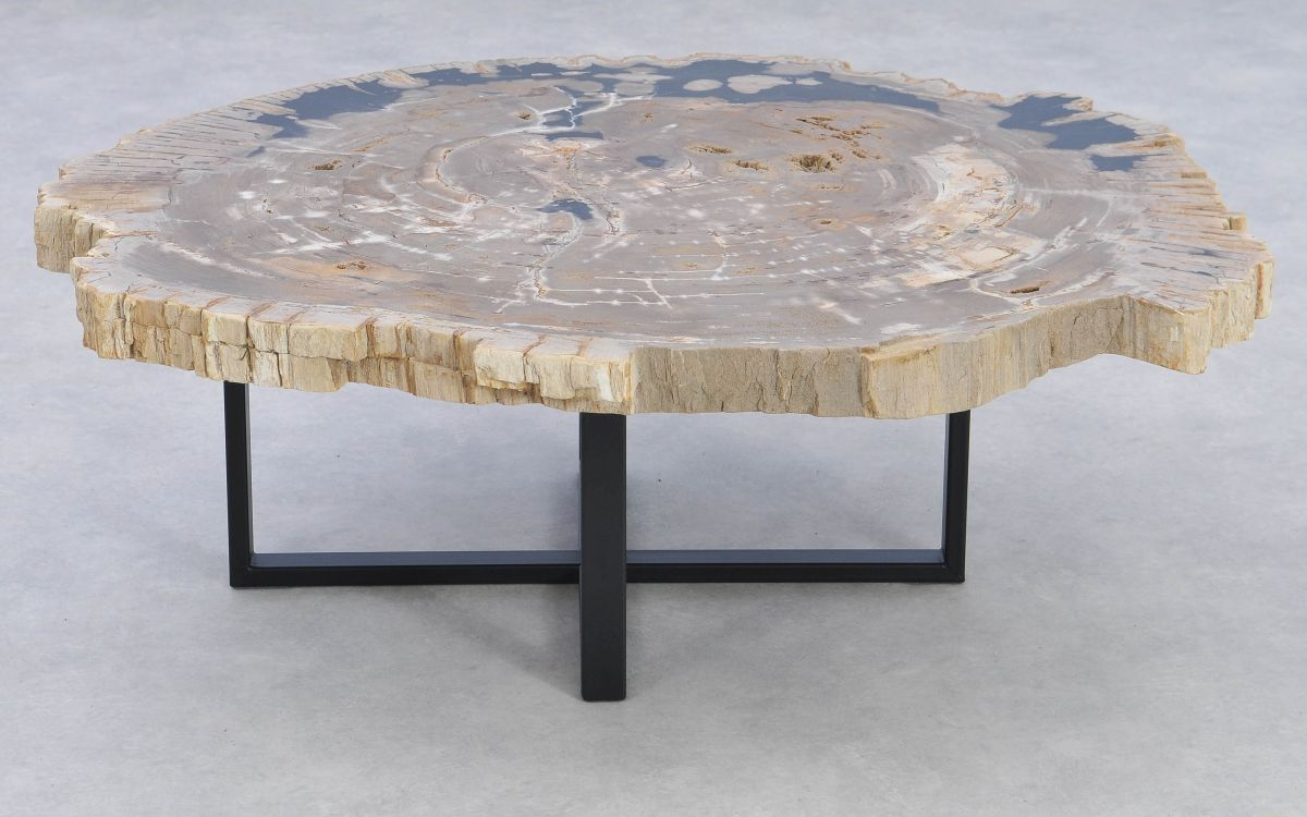 Mesa de centro madera petrificada 37162