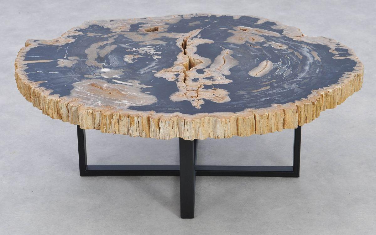 Mesa de centro madera petrificada 37171