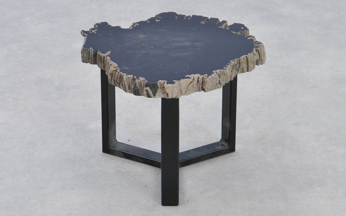 Mesa de centro madera petrificada 37180