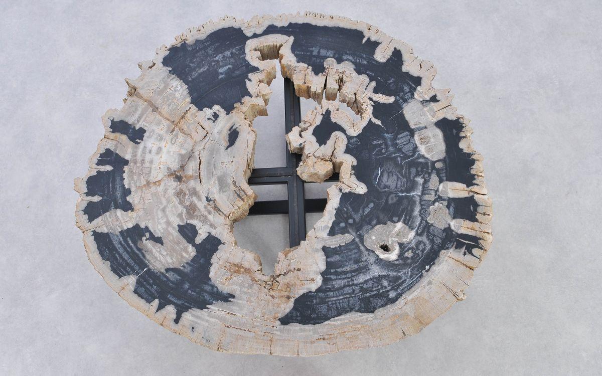 Mesa de centro madera petrificada 37182