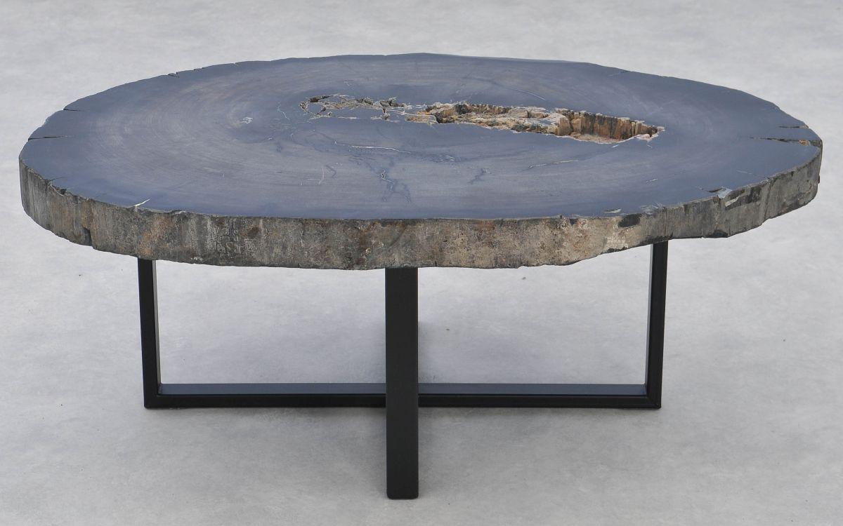 Mesa de centro madera petrificada 37271