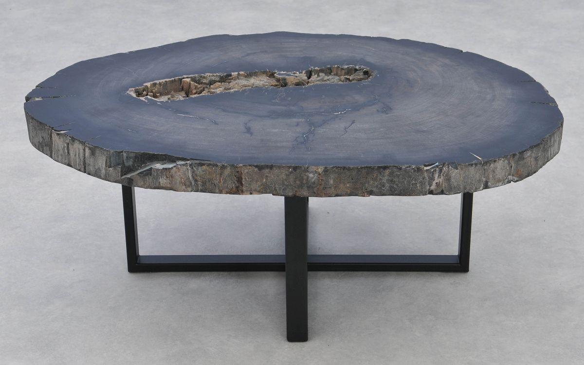Mesa de centro madera petrificada 37272