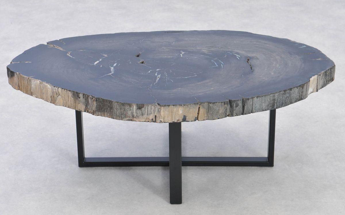 Mesa de centro madera petrificada 37285