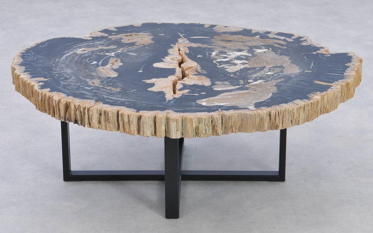 Table basse bois pétrifié 37172
